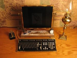 0.Computador Steampunk