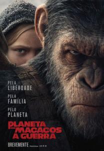 Planeta dois Macacos A Guerra